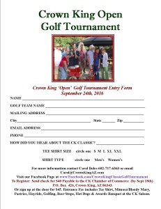Crown King Golf Tournament